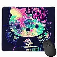 ハローキティの魔女 マウスパッド かわいい 小型マウスパッドは25×30cm ゲームおよびオフィス用/防水/洗える/滑り止め/ファッショナブルで丈夫