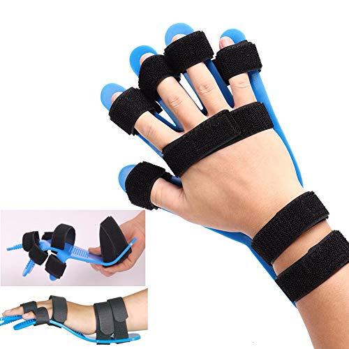 DTTKKUE Trennen Finger Splint, Finger Körperhaltung Korrektor, Band Hand-Orthese Brace, Geeignet Für Links- Und Rechtshänder Verwenden Hemiplegia Feste Fünf Finger Exercise Equipment