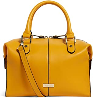 Harrods greenwich yellow barrel bag - Cross-Body Handbags