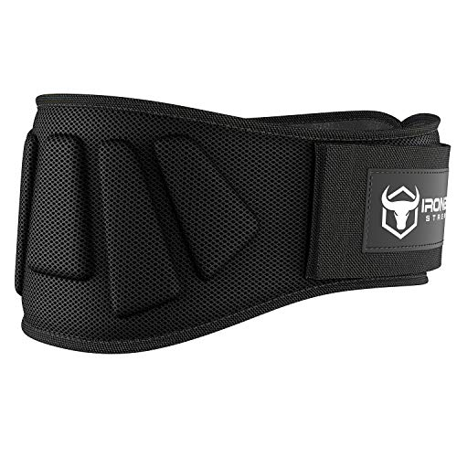 Iron bull strength weightlifting belt image