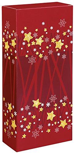 10 pcs vino cartone Advent per due bottiglie, Wine packaging, scatola bottiglie-