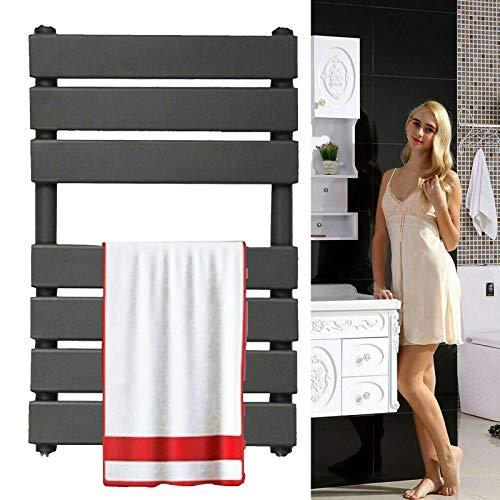 Radiador de toallero para baño montado en la pared de pared plana escalera...