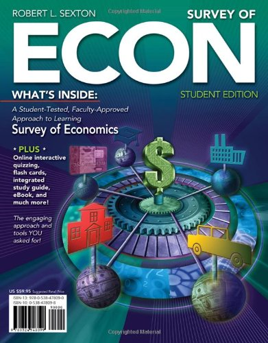 Survey of ECON (with Printed Access Card) (Available Titles CourseMate)