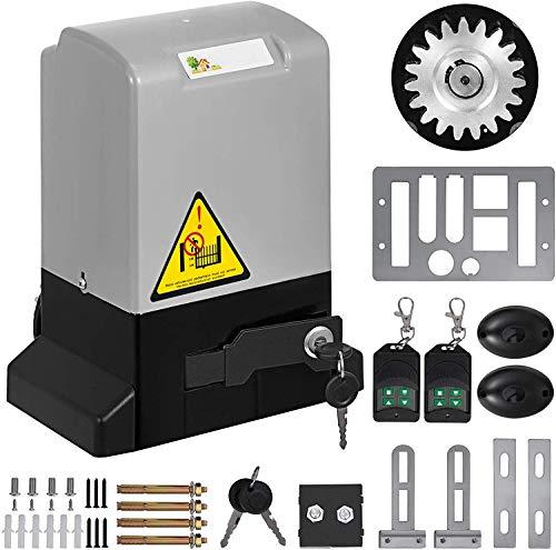 Dracotool Apriporta per garage elettrico 4M Rail Gate Opener per porte scorrevoli per operatore Kit per telecomando per porte da garage (600KG)