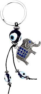 GARNECK Elefant Türkisches Auge Schlüsselanhänger Auto Schlüsselanhänger Tasche Dekoration Anhänger Ornament kreatives Geschenk