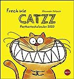 Catzz Postkartenkalender. Postkartenkalender 2020. Monatskalendarium. Spiralbindung. Format 16 x 17 cm