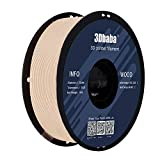 PLA Filament 1.75mm Wood 3D Printing PLA Filaments 1KG (2.2LBS)/Spool Dimensional Accuracy +/- 0.03mm