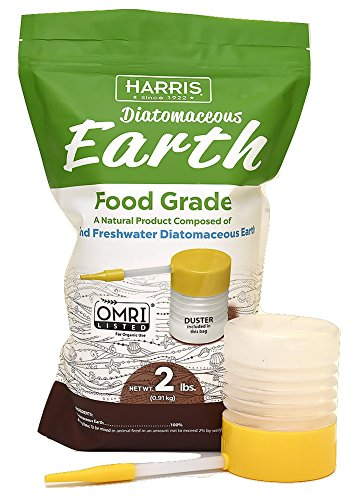 HARRIS Diatomaceous Earth Food Grade, 2lb with Powder Duster Included in The Bag (Best Automator Workflows 2019)