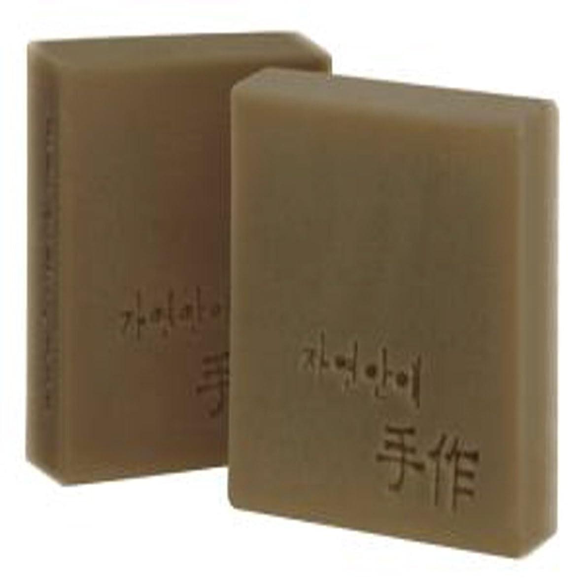 飛行場クロール調べるNatural organic 有機天然ソープ 固形 無添加 洗顔せっけんクレンジング 石鹸 [並行輸入品] (猶子)