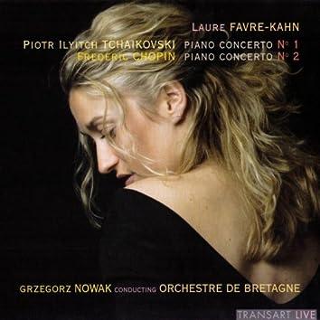 Tchaïkovski : Piano concerto No. 1 - Chopin : Piano concerto No. 2
