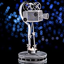 Movie Camera Metal Centerpiece