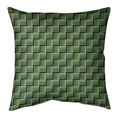 Throw Pillow Canopy Stripe Bermuda