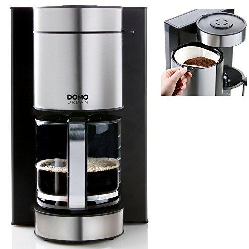Domo DO704K - Cafetera (plástico, 1,5 L)