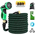 Retround 50ft Flexible Kink-Free Expandable Garden Hose