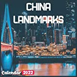 China Landmarks Calendar 2022: China Calendar 2022: 18 Months China Travel With Beautiful Scenes of China Calendar 2022 and Scenic Nature Wilderness of China Monthly Planner