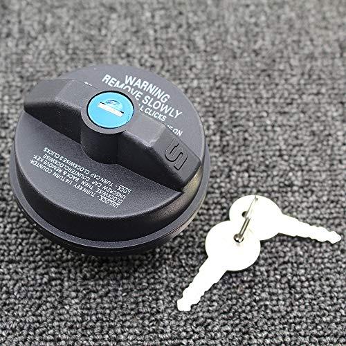SHANYD Kraftstofftank Tankdeckel/Fit for 2001-2010 Chrysler Jeep Dodge-blockierbare Gas TANKDECKEL mit 2 Schlüsseln OEM New Mopar