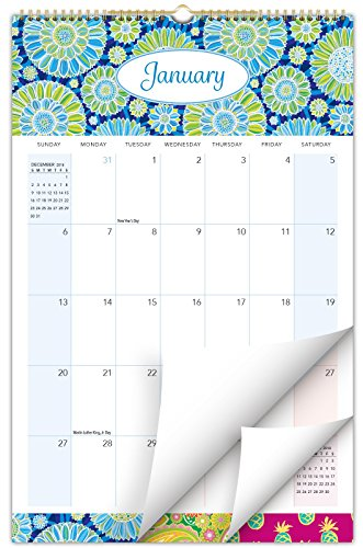 "2020 Wall Calendar - 11""x17"" - Colorful, Vibrant, Fun and Fashionable Monthly Calendar (Start Using Now Through December 2020)"