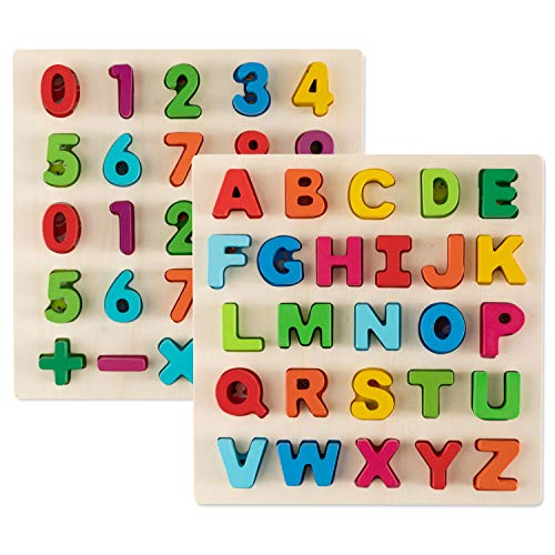 Toy To Enjoy Alphabet Puzzles - Wooden...
