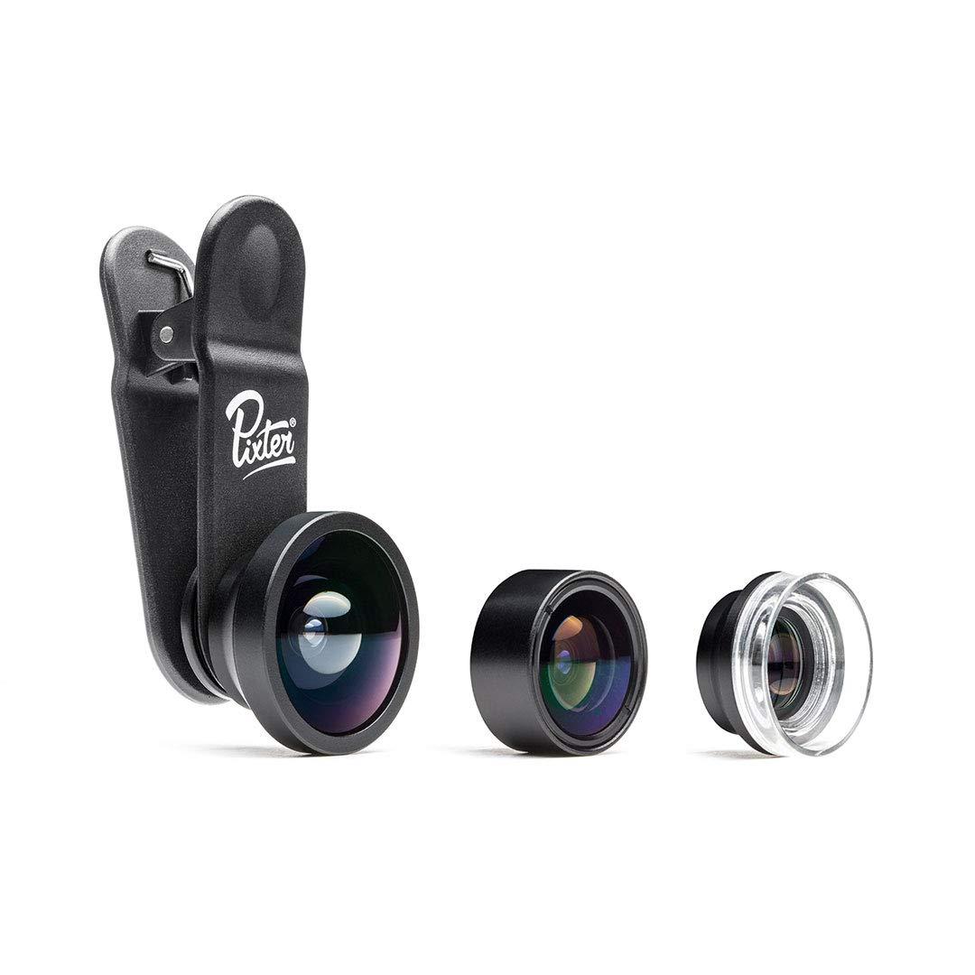 Pixter PPP-01 - Pack de objetivos para smartphones: Amazon.es ...