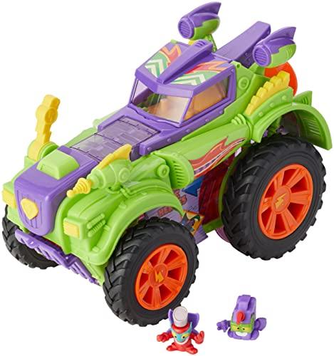 SUPERTHINGS RIVALS OF KABOOM- Playset Villian Truck Especial Superzings Vehículos Y Figuras Coleccionables, Color surtido, Talla Única (Magic Box PSZSD112IN30)