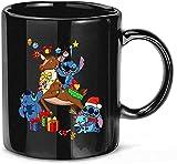 N\A #Stitch e Brutto Regalo di Natale in Ceramica Tazze Divertenti Tazze 11oz