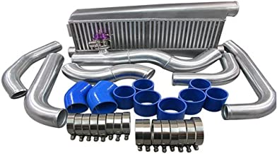 FMIC Intercooler Kit For 79-93 Fox Body Ford Mustang V8 5.0 Twin Turbo T04E