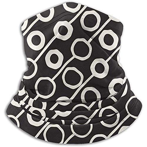 GWrix Winter-halsband, haarband, voor joggen, hoofddoek, motief kinderen, monochroom, voor mannen en vrouwen, winddicht