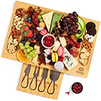 Charcuterie Cheese Board and Knife Set