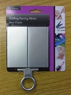 Folding Hanging Vanity Make Up Mirror Ideal Handbag Travel Holiday or Home Use