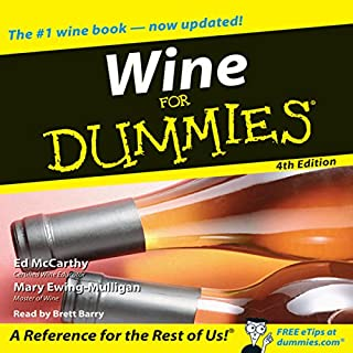 Wine for Dummies 4th Edition audiobook cover art