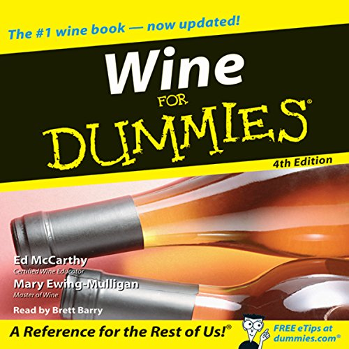 Wine for Dummies 4th Edition Titelbild