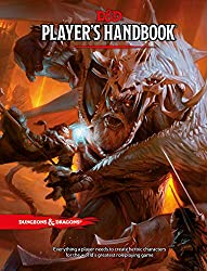 Image: Player's Handbook (Dungeons and Dragons), by Wizards RPG Team (Author). Publisher: Wizards of the Coast; 5th edition (August 19, 2014)