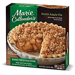 Marie Callender's Dutch Apple Pie Frozen Dessert, 38 Ounce