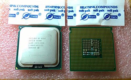 zusammengehöriges Paar (2) Intel Xeon CPU X5365Slaed 3GHz/8M/1333Sockel 771Für Mac Pro 1,1