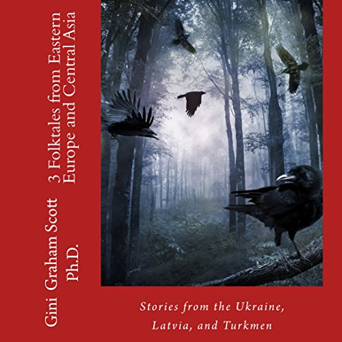 3 Folktales from Eastern Europe and Central Asia audiobook cover art