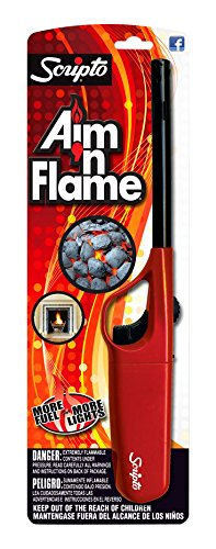 Scripto Multi Purpose Lighter, Aim'm Flame Ii, Random Color