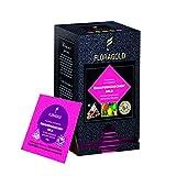 Té de frutas de estómago leve de casa de pan de jengibre en el bolso de té de la pirámide (15 unidades)