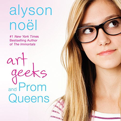 Art Geeks and Prom Queens audiobook cover art