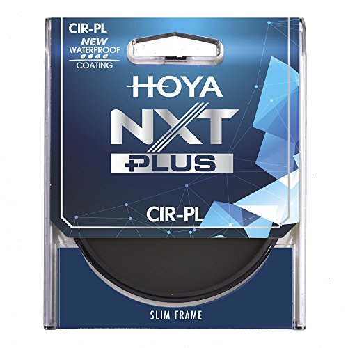Hoya NXT Plus 49mm 10-Layer HMC Multi-Coated Circular Polarizer Lens Filter, Low-Profile Aluminum Frame