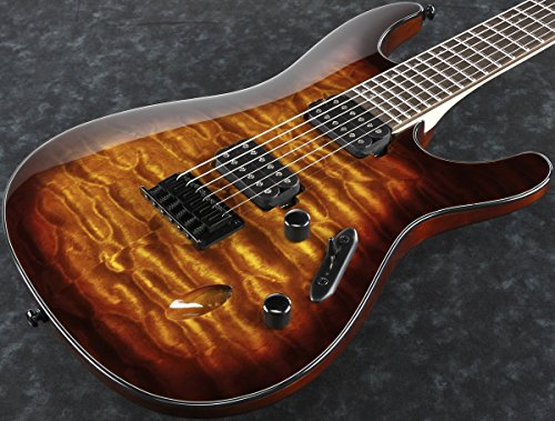 Ibanez S Series S621QM Electric Guitar Dragon Eye Burst