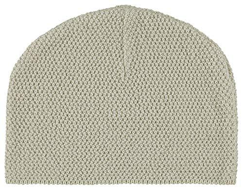 Noppies Baby-Unisex U Hat Knit Thomaston Mütze, Beige (Dove C012), One Size (Herstellergröße: 0M-3M)