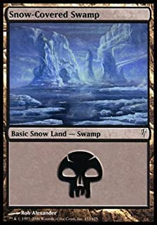 Magic: the Gathering - Snow-Covered Swamp - Coldsnap - Foil