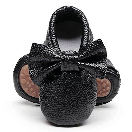 Northside Girls' Frosty Snow Boot, Black/Purple, 6 M US Toddler