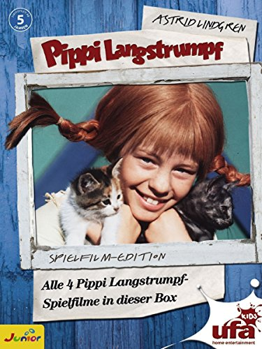 Pippi Langstrumpf - Spielfilm-Edition (4 DVDs, Remastered)
