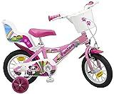 Toimsa 12 Zoll Kinderfahrrad Mädchenfahrrad Kinder Kinderrad Fahrrad Rad Bike Fantasy PINK