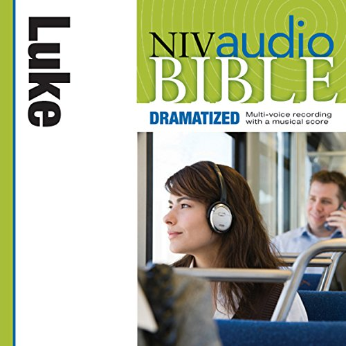 NIV Audio Bible, Dramatized: Luke cover art