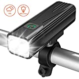 Best Waterproof Flashlights - Bovon Bike Light, 800 Lumens USB Rechargeable Bicycle Review
