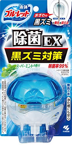 液体ブルーレットおくだけ除菌EX トイレタンク芳香洗浄剤 本体 スーパーミントの香り 70ml
