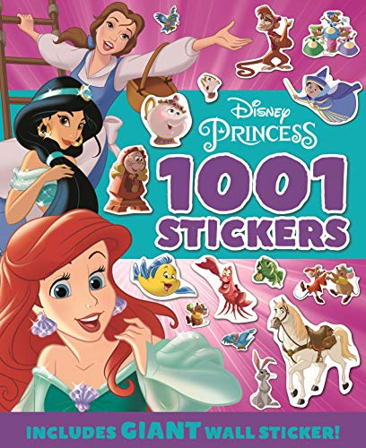PRINCESS: 1001 Stickers (1001 Stickers Disney)