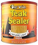 Star brite Teak Sealer - No Drip, Splatter-Free Formula - One Coat Coverage for All Fine Woods Light, 16 oz